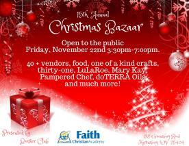 15th Annual Christmas Bazaar