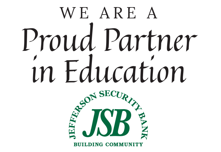 Proud Partner in Education - Jefferson Security Bank