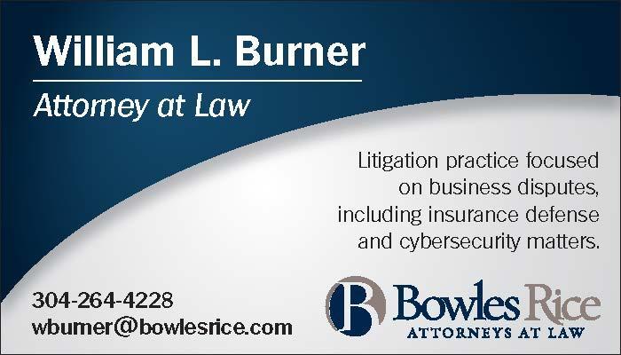 Bowles Rice Attorneys - William Burner