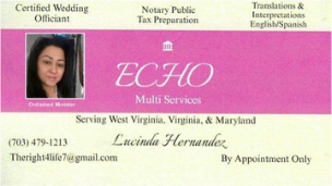 Echo Multi Services - Lucinda Hernandez